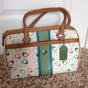 New Rainbow Coach purse